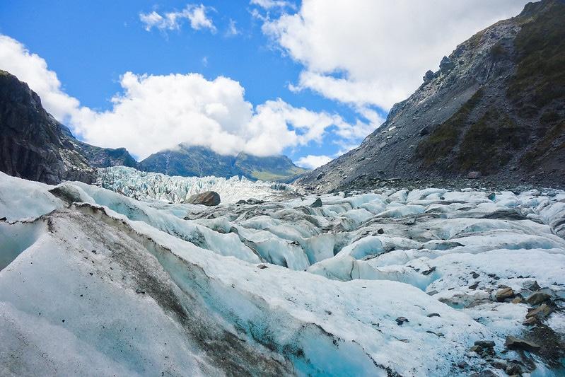 Glacier Fox, Nouvelle-Zélande