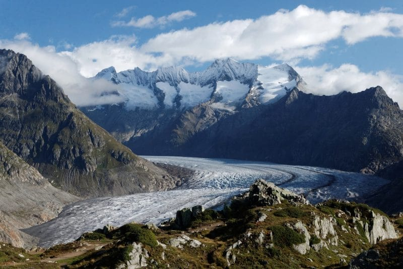 Glacier d'Aletsch, Suisse