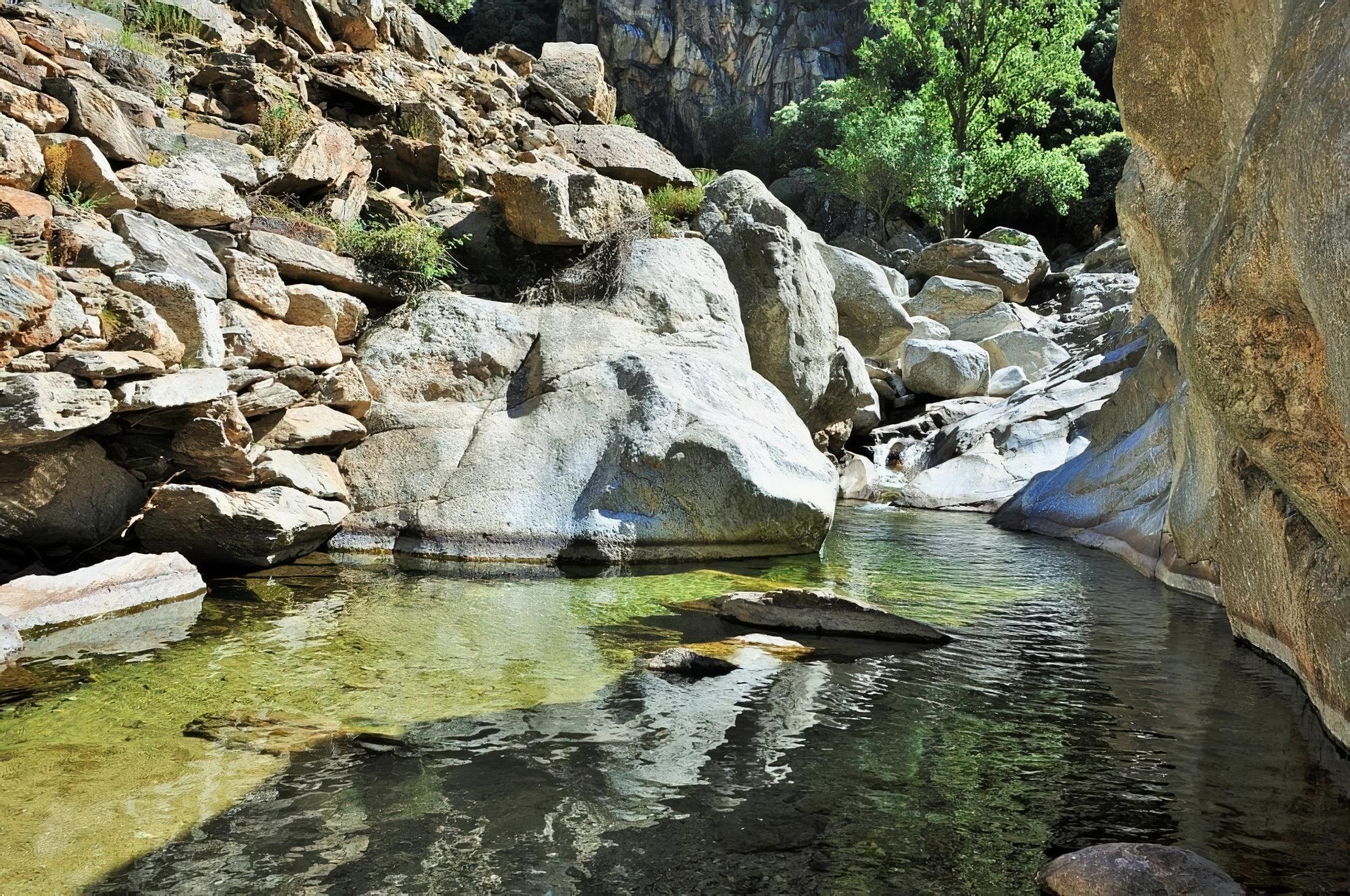 canyoning près de Montpellier