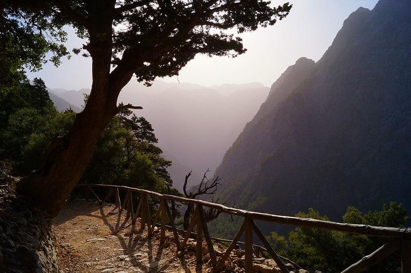 Histoire des Gorges de Samaria en Grèce