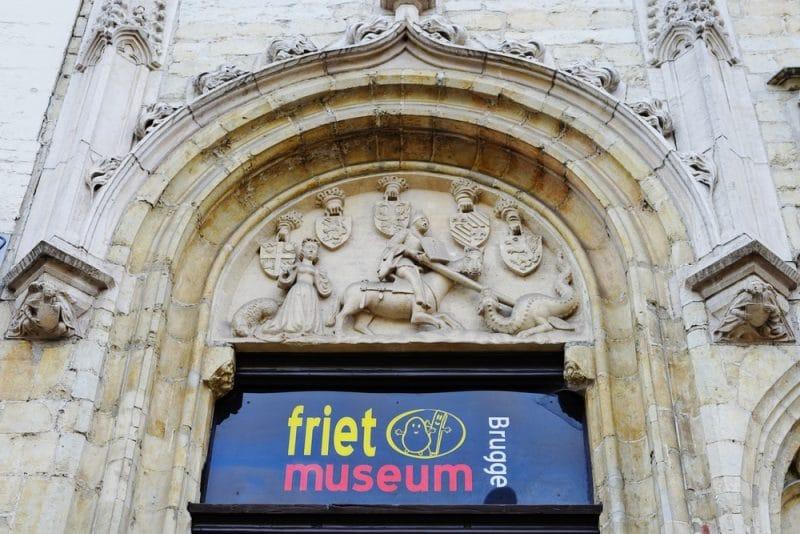 Histoire du musée de la frite à Bruges