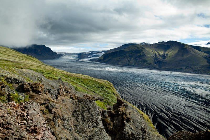 Histoire du glacier Vatnajökull
