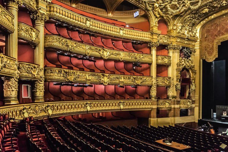 Horaires é tarifs de l'Opéra Garnier à Paris