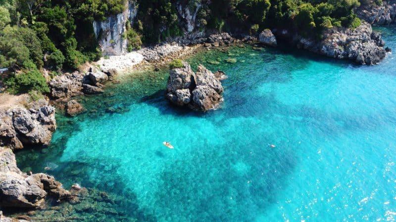 Faire du canoë kayak à Ibiza
