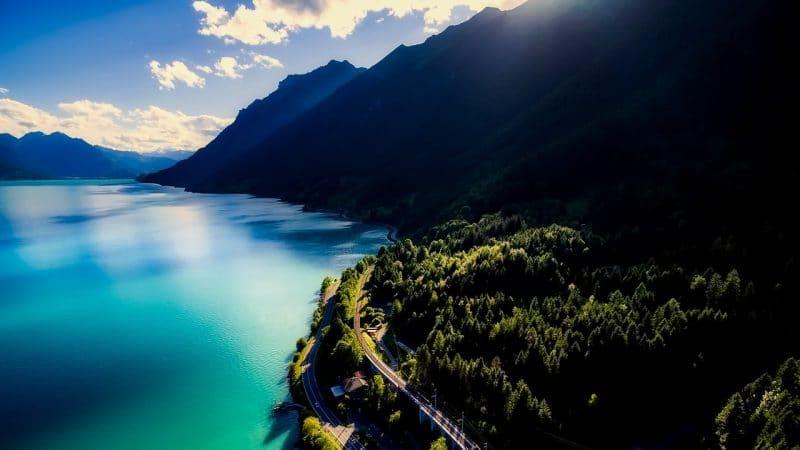Lac de Brienz, Suisse