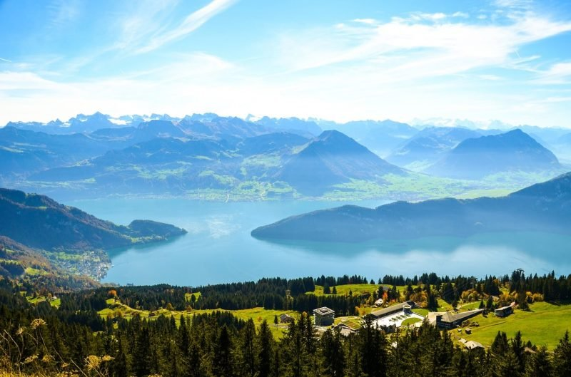 Lac des Quatre-Cantons, Suisse