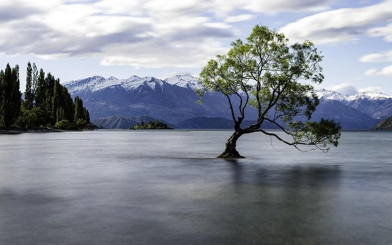 Lac Wanaka, Nouvelle-Zélande