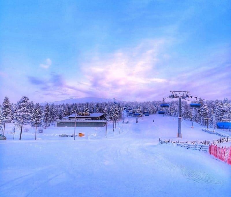 Station de ski Levi, Finlande