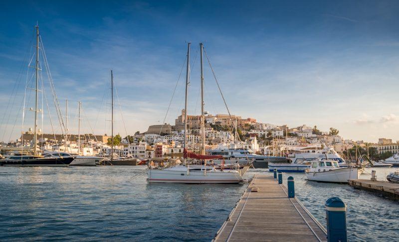 Port d'Ibiza, Marina