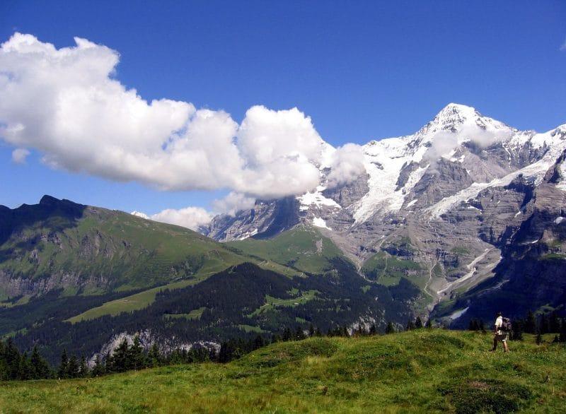 Le Mönch, Suisse