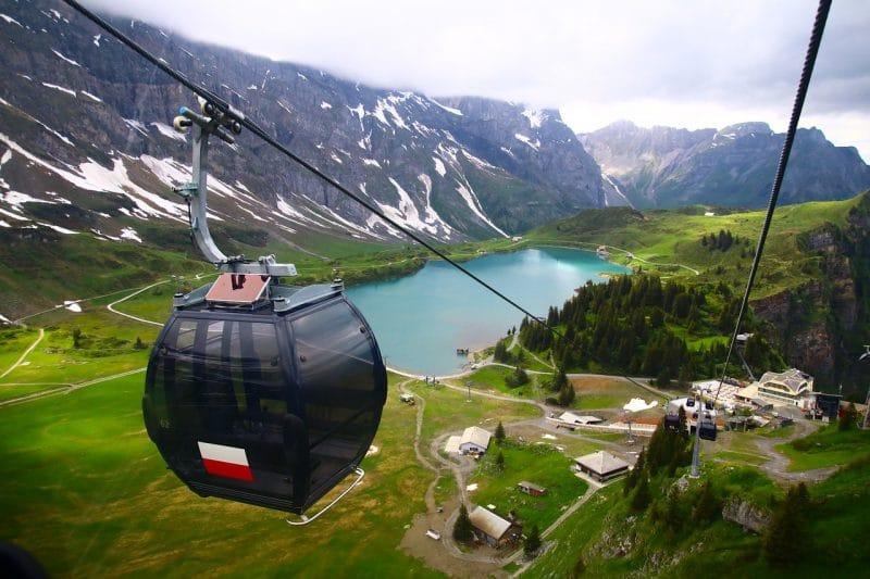 Téléphérique, Mont Titlis, Suisse