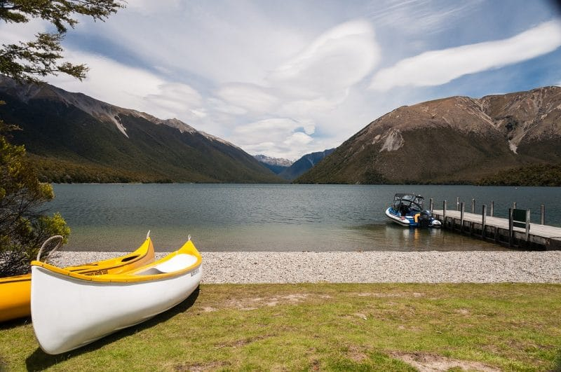 Nelson Lakes, Nouvelle-Zélande