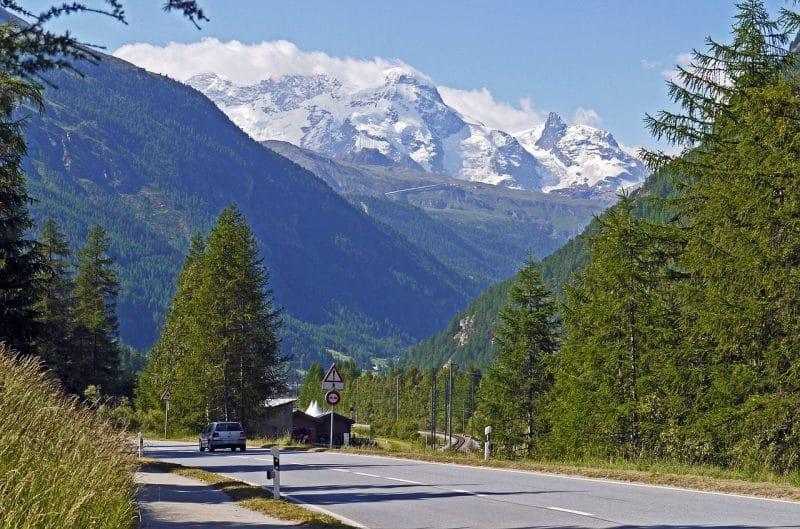 Le Petit Cervin, Suisse
