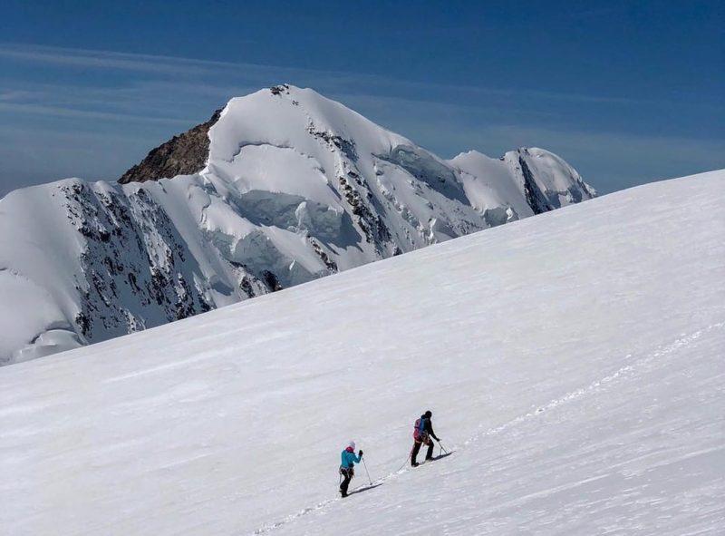 Alpinisme, randonnée, Pointe Dufour, Suisse