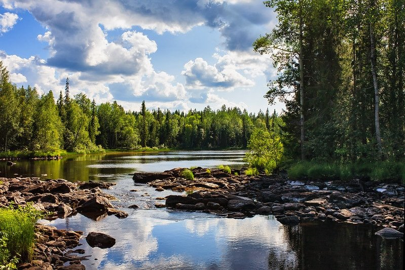 Parc national de Pyhä-Luosto, Finlande