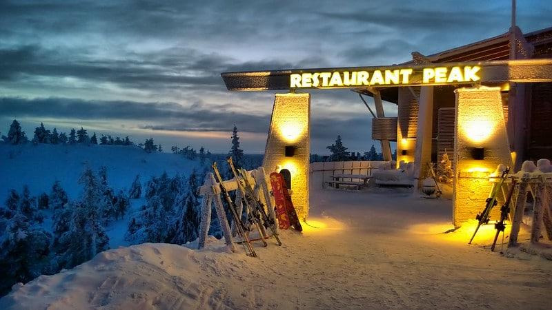 Station de ski Ruka, Finlande