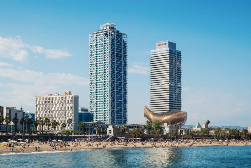 Peix Olímpic Frank Gehry