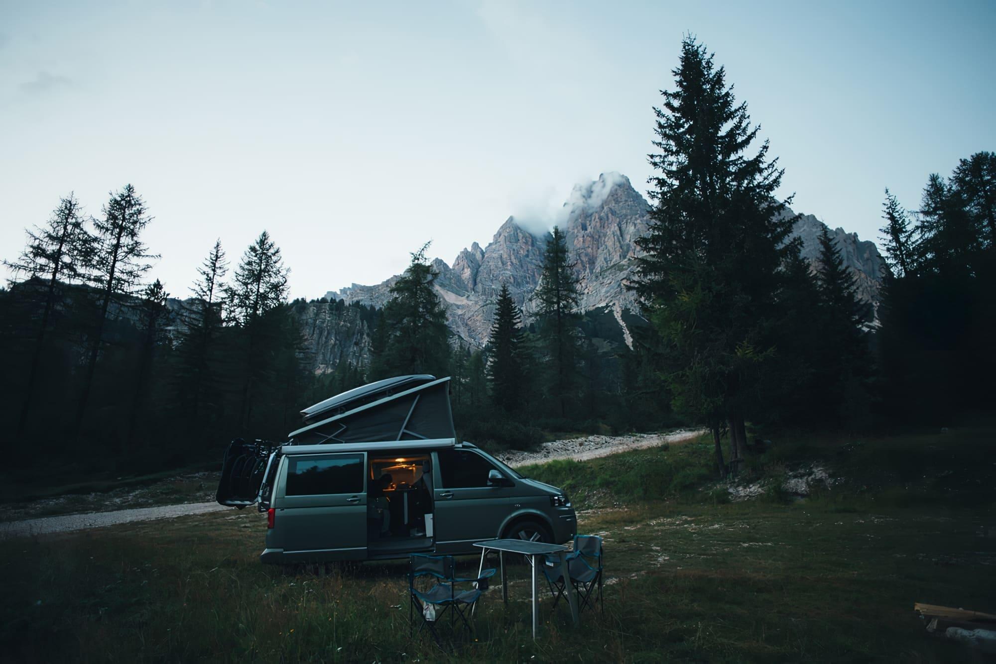 Van ou fourgon aménagé, Camping-car