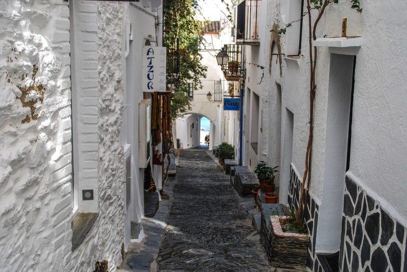 Vieux Cadaqués centre, Espagne