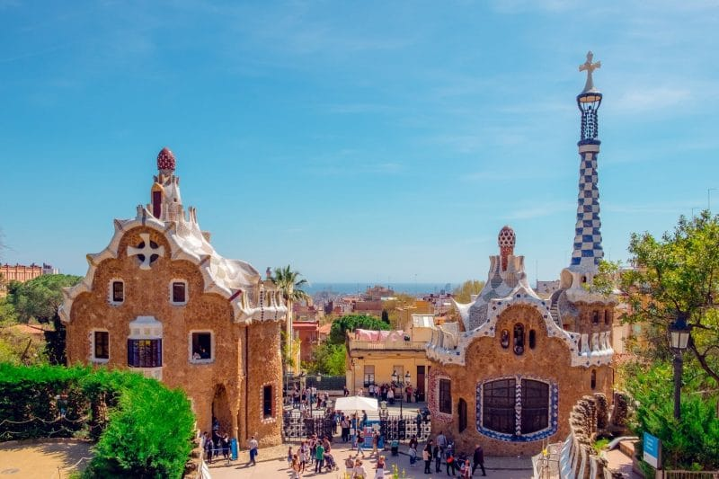 Parc Guell, Barcelone