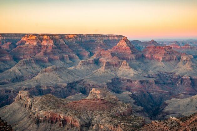 Visiter le Grand Canyon depuis Las Vegas : billets, tarifs, horaires