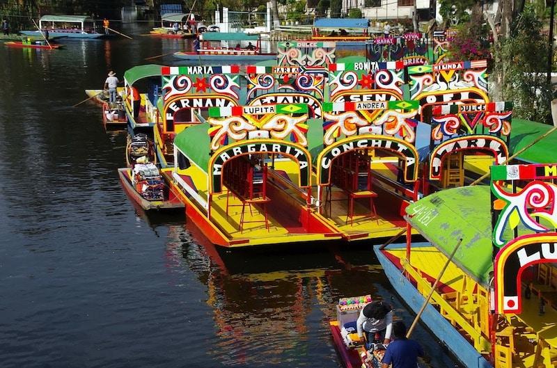 Jardins flottants de Xochimilco