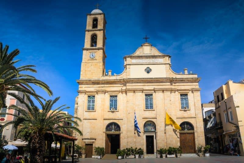 Eglise Agios Nikolaos, La Canée, Grèce
