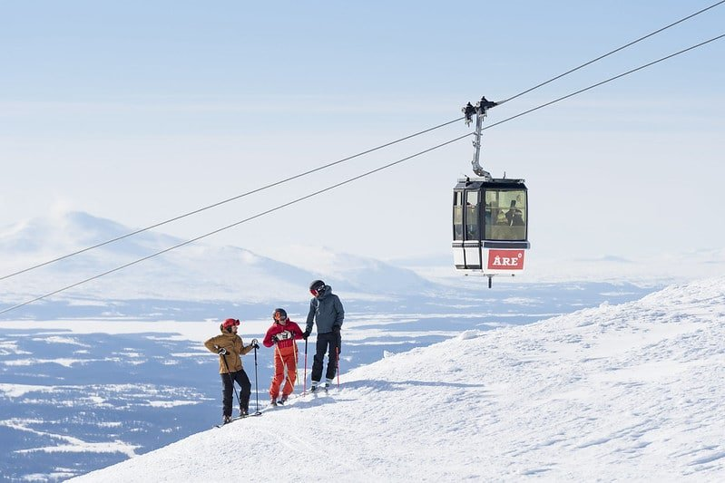 Åre ski, Suède