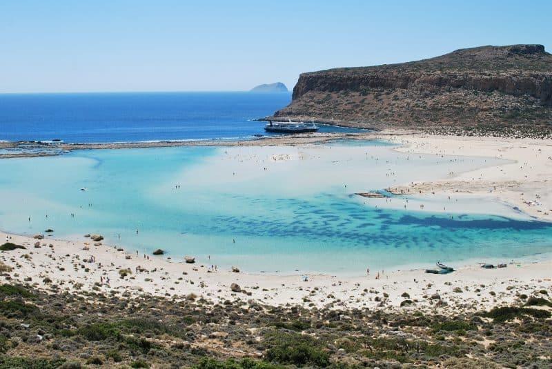 Lagon de Balos, Crète, Grèce