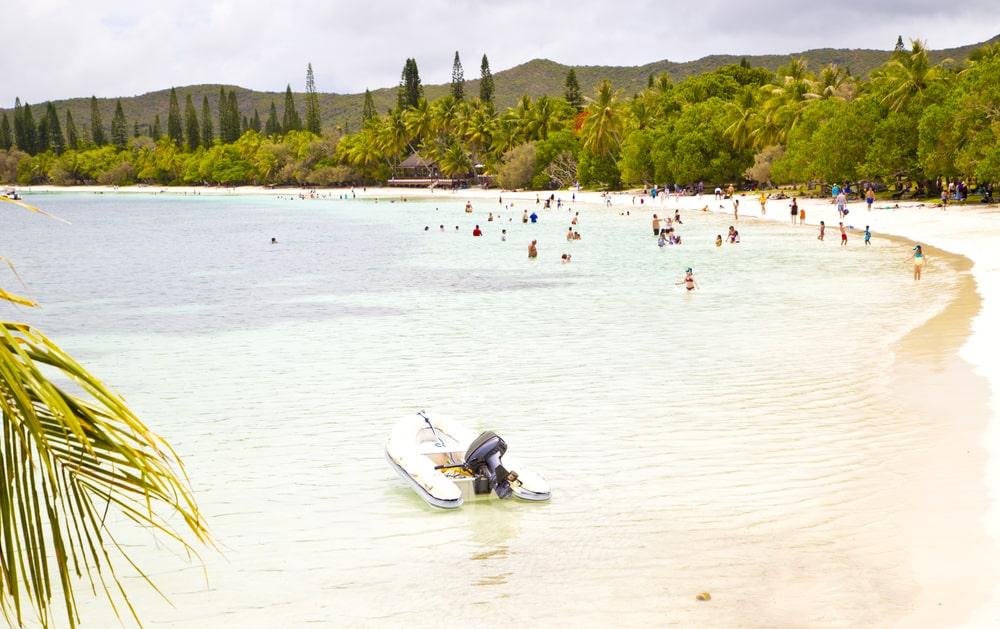 Une balade en bateau à l'île des Pins