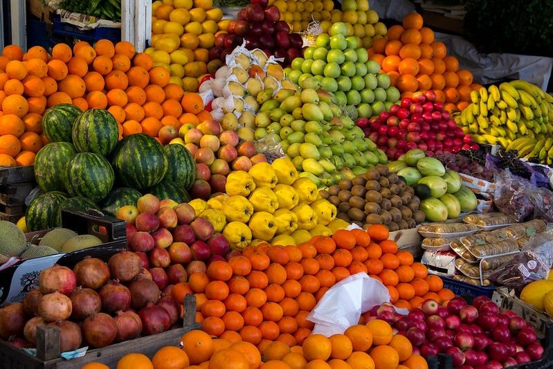 Marché de Bodrum, Bazaar