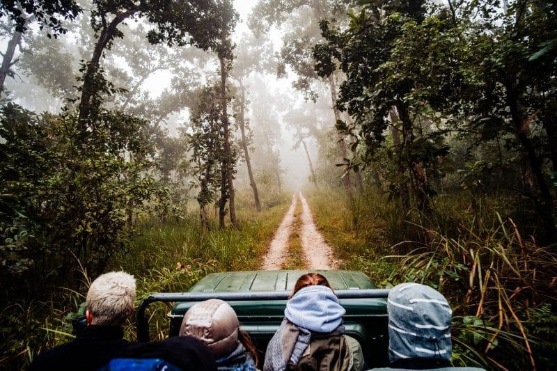 Parc national de Chitwan, Népal