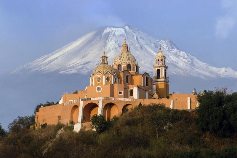 Loger à Cholula près de Puebla, Mexique