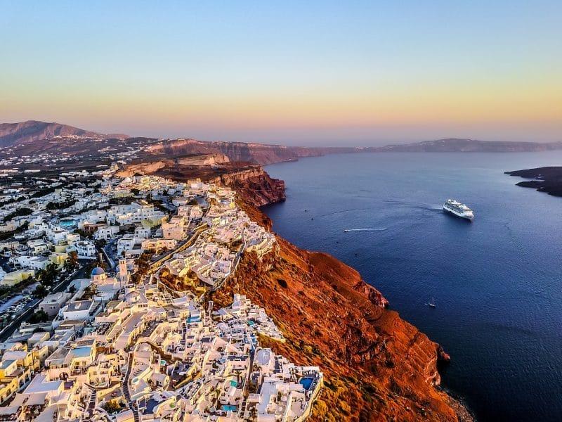 Compagnies ferry Santorin depuis Athènes