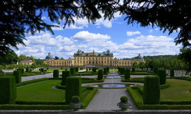 Château de Drottningholm, Suède