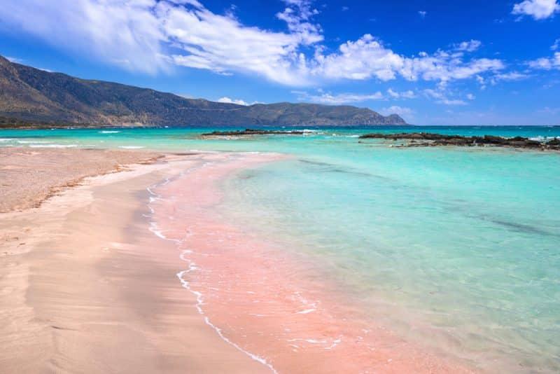 Plage Elafonissi, Crète, Grèce
