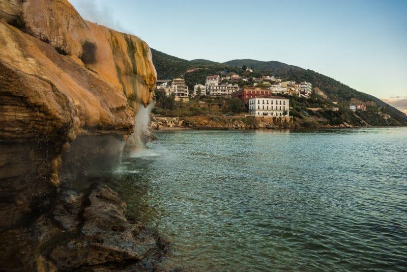 Île d'Evia, Grèce