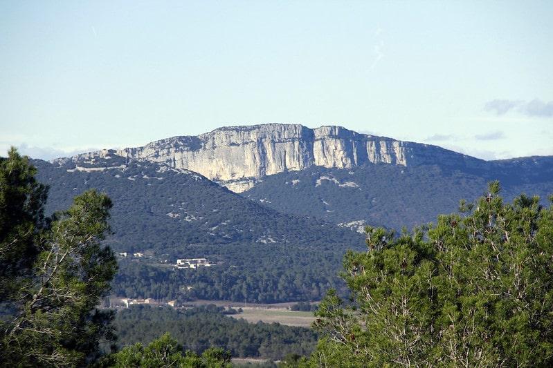 Escalader la falaise de l'Hortus, Hérault
