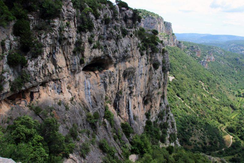 Falaise Saint Guilhem le Désert