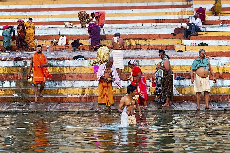 Le Gange, Inde