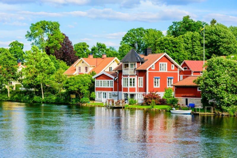 Canal de Göta, Suède