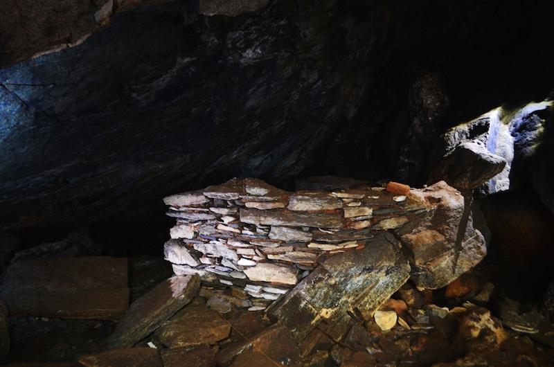 Grotte à Tinos