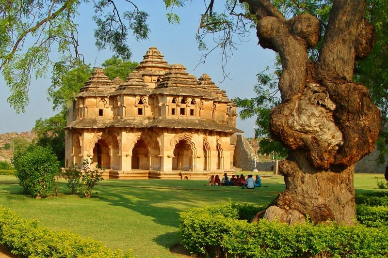 Lotus Mahal, Hampi, Inde