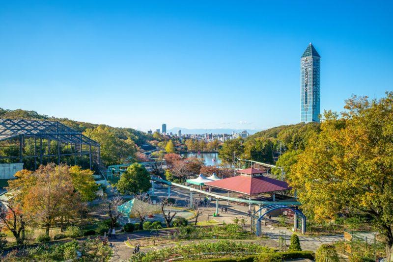 Zoo et jardins botaniques d'Higashiyama
