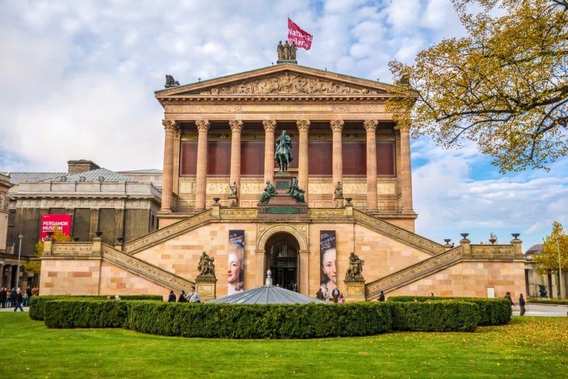 Histoire de l'Alte Nationalgalerie, Berlin