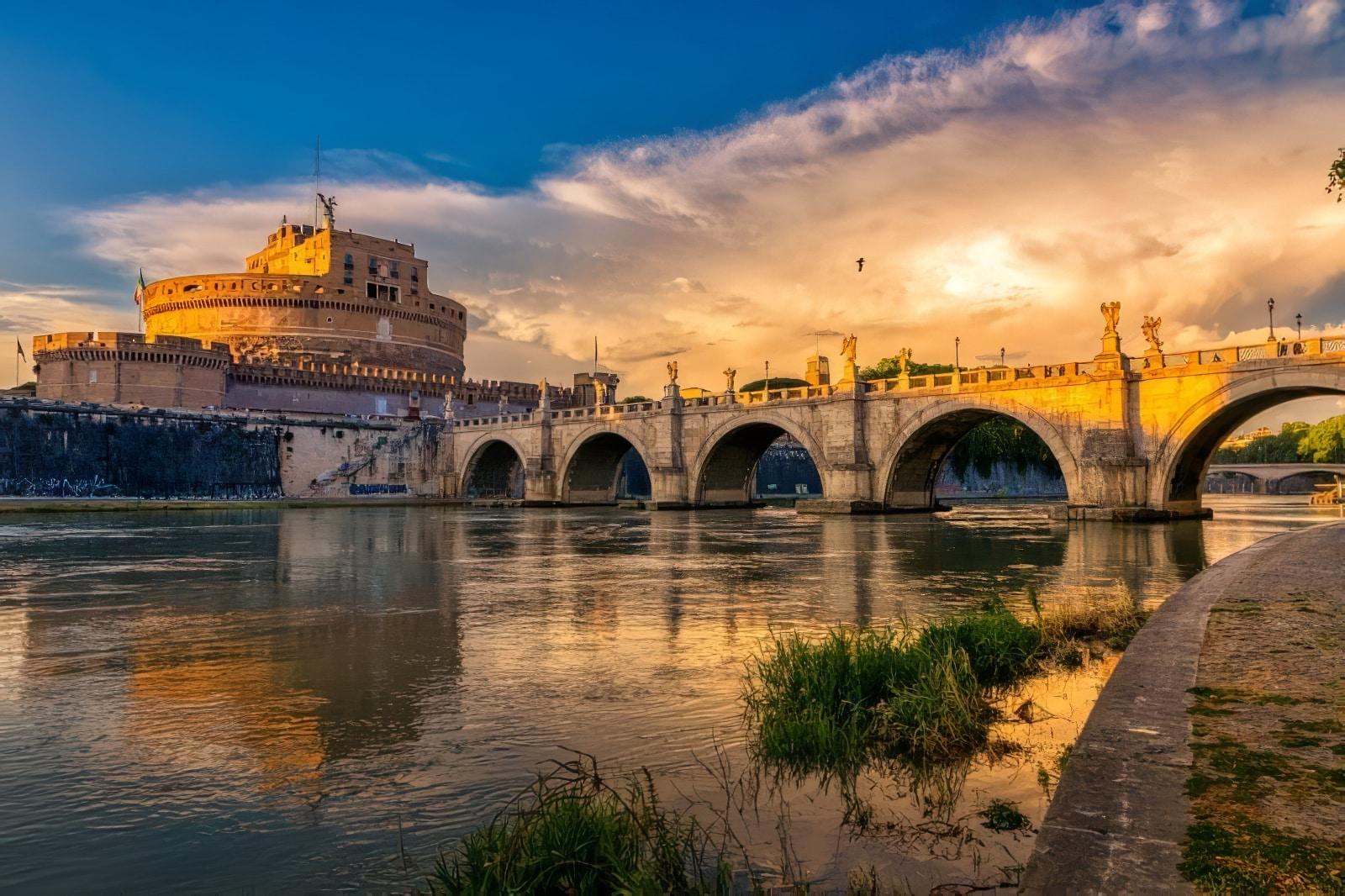 Histoire du Château Saint-Ange à Rome