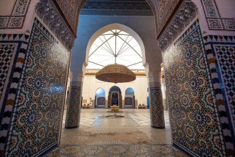 Histoire du musée de Marrakech