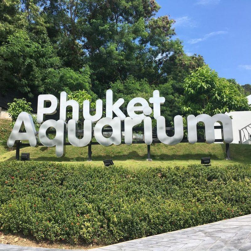 Horaires et tarifs de l'aquarium de Phuket