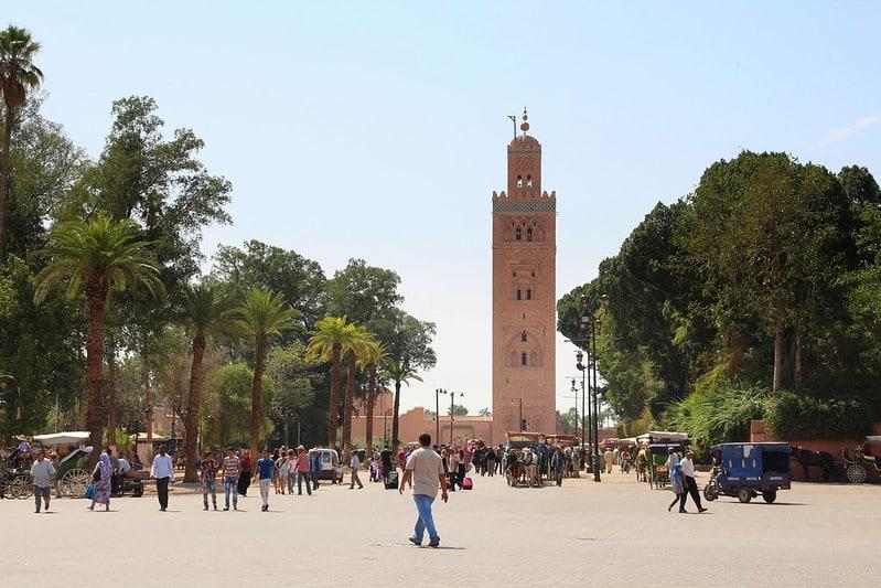 Horaires et tarifs de la Mosquée Koutoubia à Marrakech