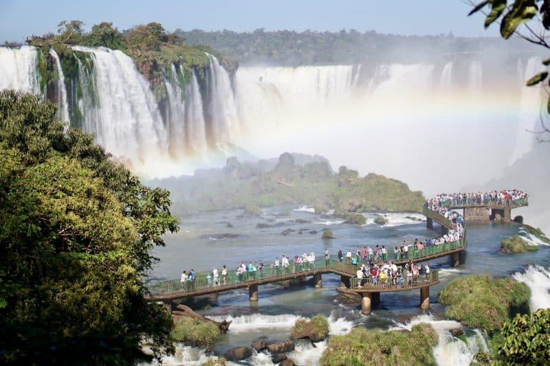 Les chutes d'Iguazù, Argentine